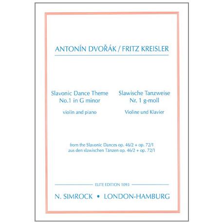 Dvořák, A.: Slawische Tanzweisen Nr. 1 g-Moll