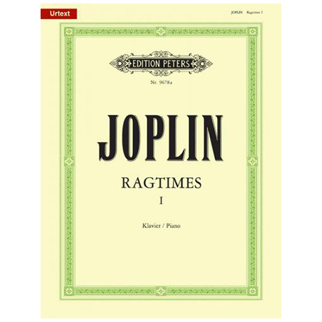 Joplin, S.: Ragtimes Band I (1899-1906)