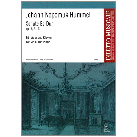 Hummel, J. N.: Violasonate Op. 5/3 Es-Dur