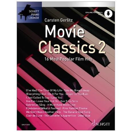Schott Piano Lounge – Movie Classics 2 (+Online Audio)