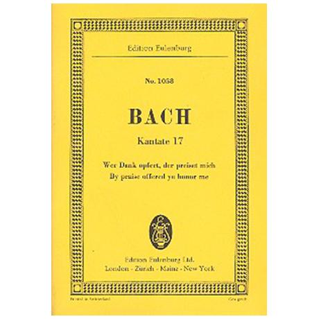 Bach, J. S.: Kantate BWV 17 »Dominica 14 post Trinitatis«