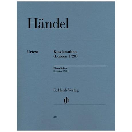 Händel, G. F.: Klaviersuiten (London 1720)