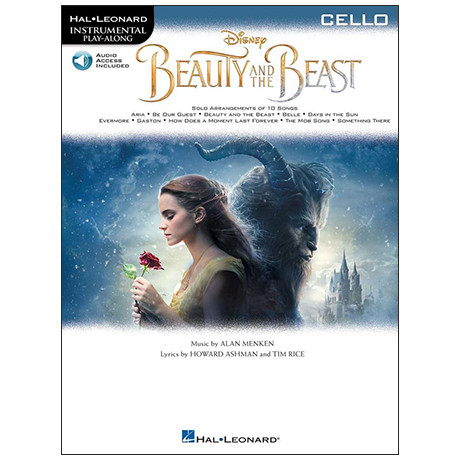 Beauty and the Beast for Cello (+ Online Audio)