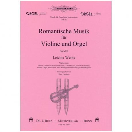 Romantische Musik für Violine und Orgel Band 2