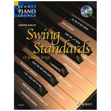 Schott Piano Lounge – Swing Standards (+CD)