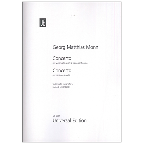 Monn, G.M.: Concerto g-moll