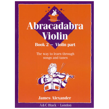 Alexander, J.: Abracadabra Violin Band 2