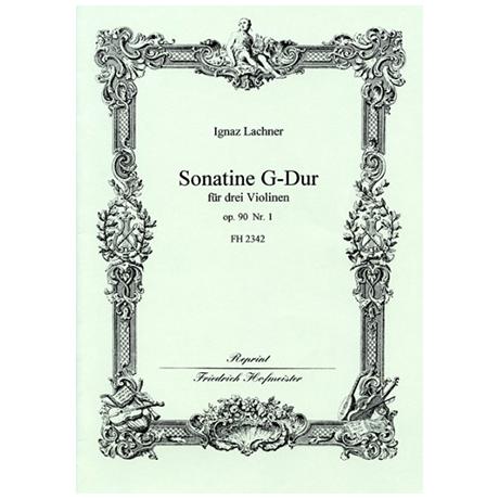 Lachner, I.: Sonatine Op. 90/1 G-Dur