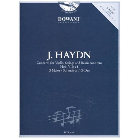 Haydn, J.: Violinkonzert Hob. VIIa: 4 G-Dur (+2 CDs)