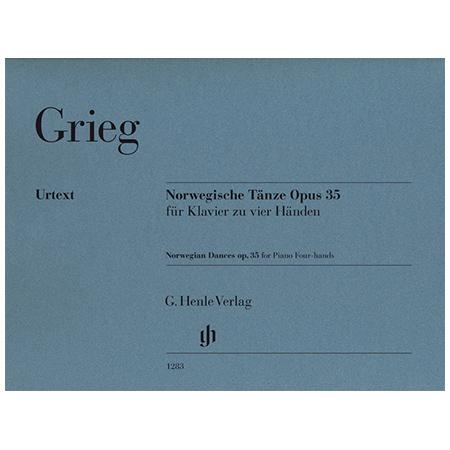 Grieg, E.: Norwegische Tänze Op. 35