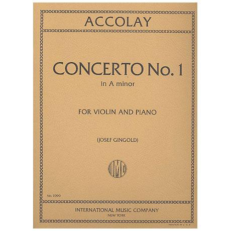 Accolay, J.B.: Concerto a-Moll No.1