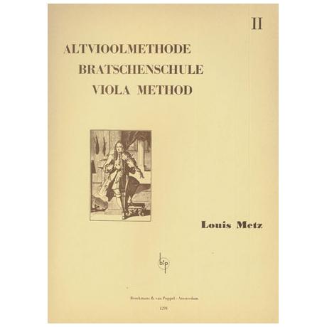 Metz, Louis: Violaschule Op.2