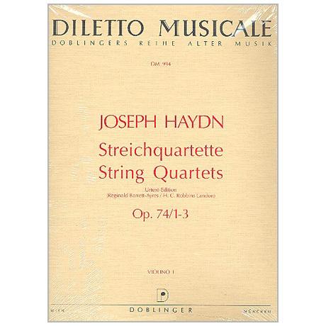 Haydn, J.: Streichquartette Op. 74 Hob. III:72-74
