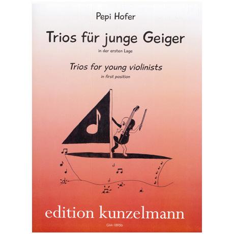 Hofer, P.: Trios für junge Geiger