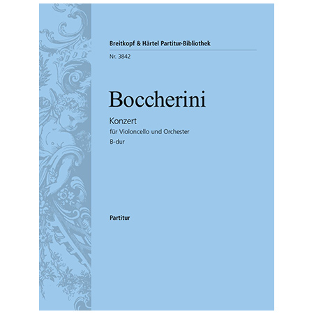 Boccherini, L.: Violoncellokonzert B-Dur