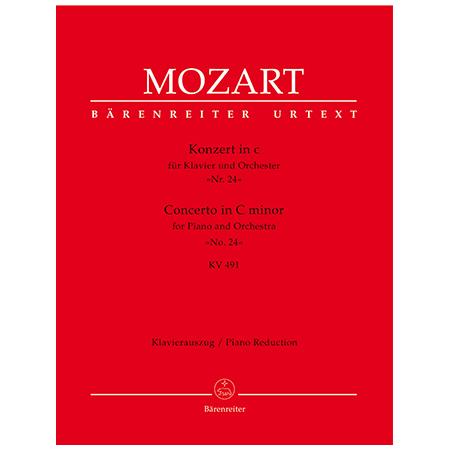 Mozart, W. A.: Klavierkonzert Nr. 24 KV 491 c-Moll