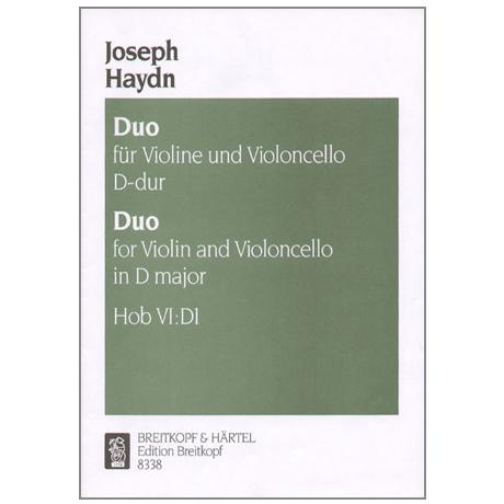 Haydn, J.: Duo Hob.: VI:D1