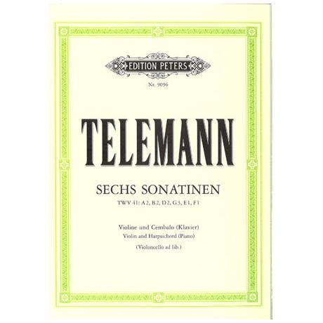 Telemann: 6 Sonatinen