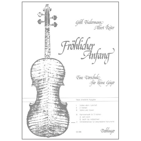 Fröhlicher Anfang – Band 5