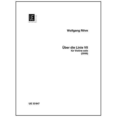 Rihm, W.: Über die Linie VII