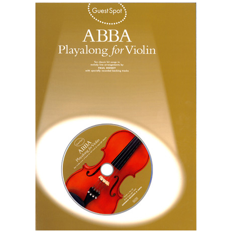 Abba: Playalong For Violin (+CD)