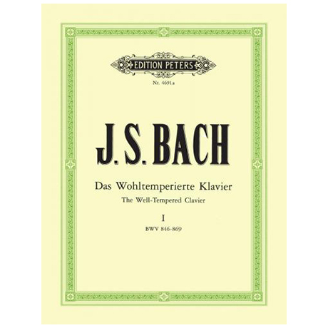 Bach, J. S.: Das Wohltemperierte Klavier Band I BWV 846-869