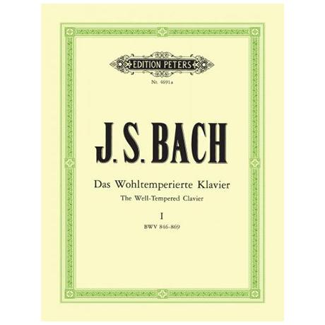 Bach, J. S.: Das Wohltemperierte Klavier Band I BWV 846-869