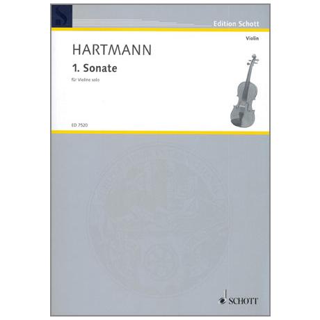 Hartmann, K. A.: Sonate Nr. 1