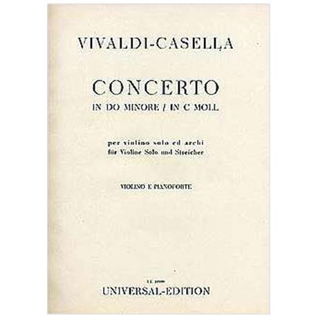 Vivaldi, A.: Konzert Op. 9/11 RV 198a c-Moll