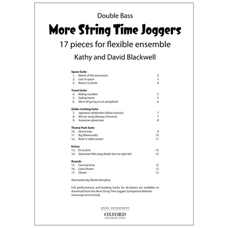 Blackwell, K. & D.: More String Time Joggers – Double Bass