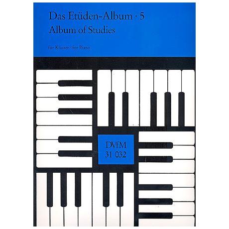 Das Etüden-Album für Klavier Heft 5