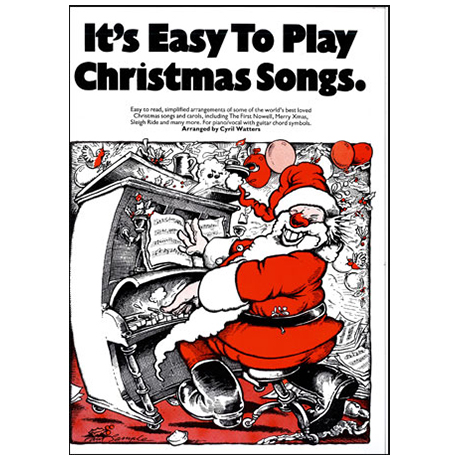It's easy to play Christmas Songs