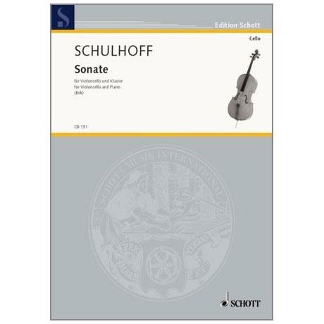 Schulhoff, E.: Sonate (1914)