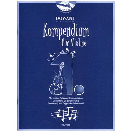 Kompendium für Violine - Band 1 (+CD)