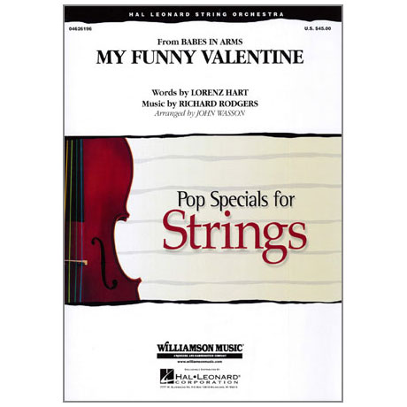 Pop Specials for Strings - My Funny Valentine