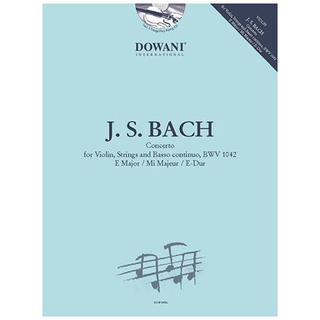 Bach, J. S.: Violinkonzert Nr. 2 BWV 1042 E-Dur (+2 CDs)