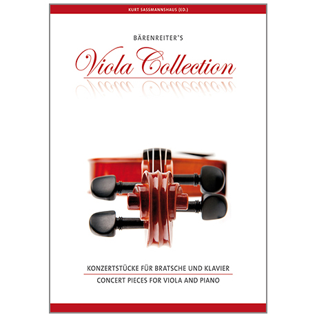 Sassmannshaus, K.: Bärenreiter's Viola Collection