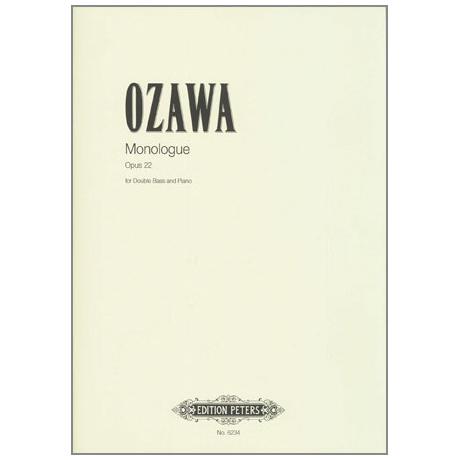Ozawa, H.: Monolog Op.22