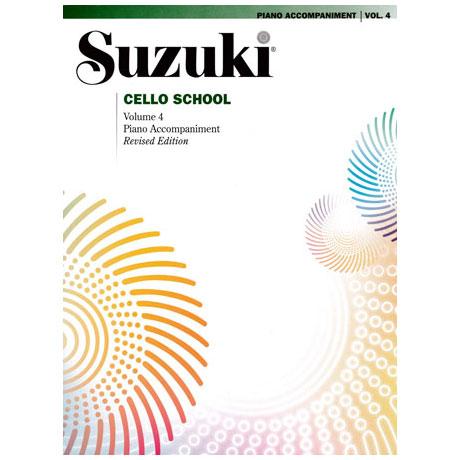 Suzuki Cello School Vol.4 – Piano Accompaniment