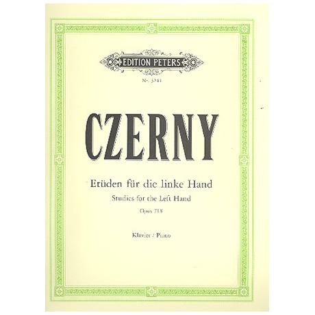 Czerny, C.: 24 Etüden für die linke Hand Op. 718