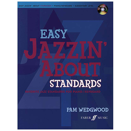 Wedgwood, P.: Easy Jazzin' About Standards (+CD)