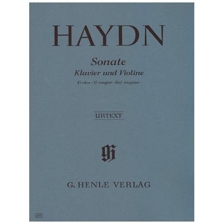Haydn, J.: Violinsonate G-Dur (nach Hob. XV:32)