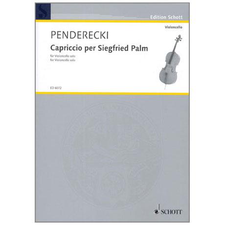 Penderecki, K.: Capriccio per Siegfried Palm