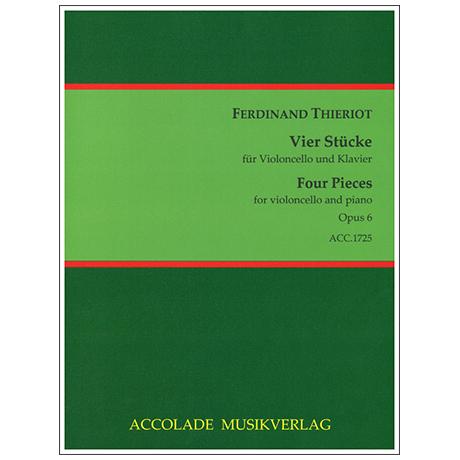 Thieriot, F.: 4 Stücke Op. 6