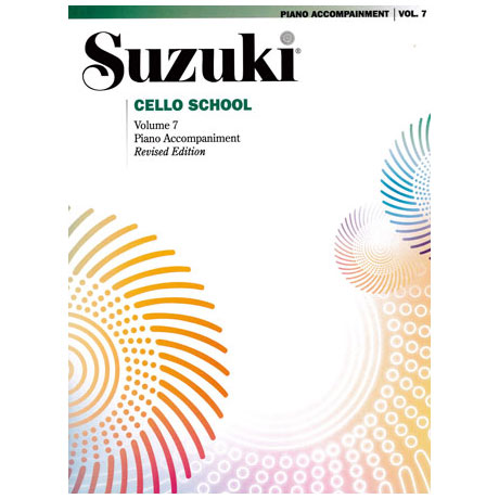 Suzuki Cello School Vol.7 – Piano Accompaniment