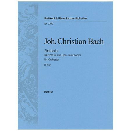 Bach, J. C.: Sinfonia D-Dur – Ouvertüre