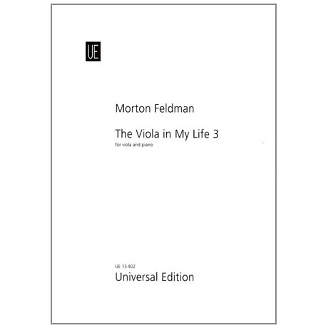 Feldman, M.: The Viola is my Life III