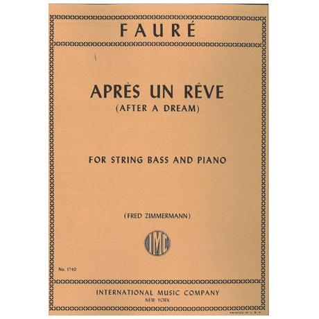 Fauré, G.: Apres un reve op.7 Nr.1