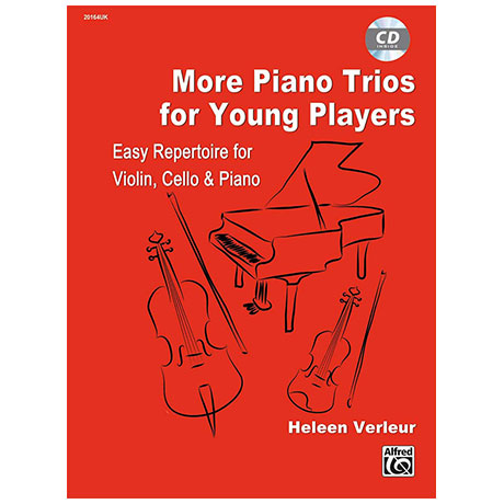 Verleur, H.: More Piano Trios for Young Players (+CD)