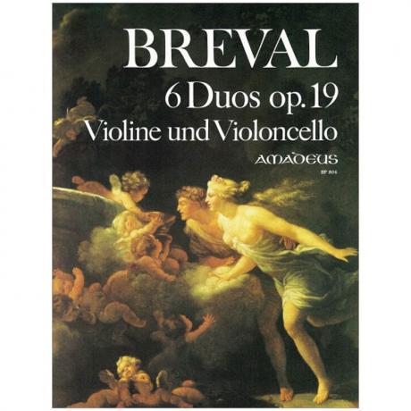Bréval, J.-B.: 6 Duos Op. 19